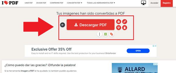 Come convertire immagini JPG in file in formato PDF? Guida passo passo 13