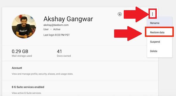 Come recuperare email cancellate molto tempo fa nel tuo account Gmail? Guida passo passo 8