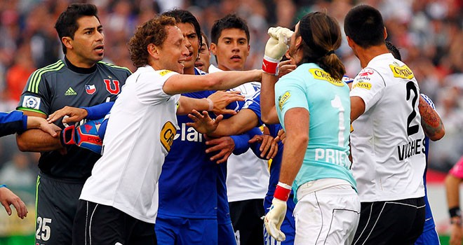 Guarda Colo Colo vs Universidad de Chile online 1