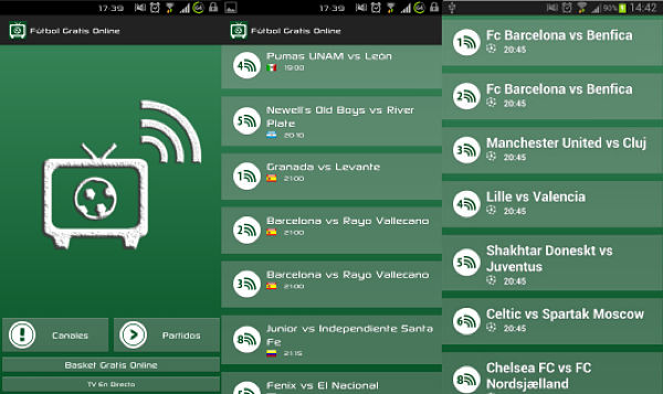 Le migliori app per guardare il calcio su Android gratuitamente 1