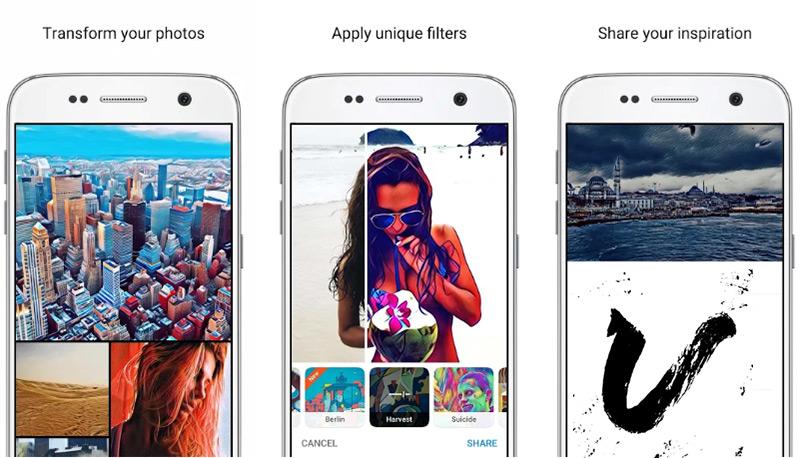 Quali sono le migliori applicazioni per modificare foto e immagini gratuitamente per Android e iPhone? Elenco 2019 8