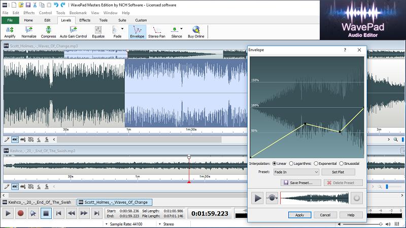 Quali sono i migliori programmi per registrare audio o suoni su computer Windows o Mac? Elenco 2019 9