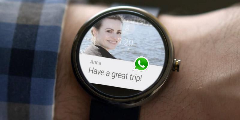 Come inviare messaggi WhatsApp da Android Wear? 1