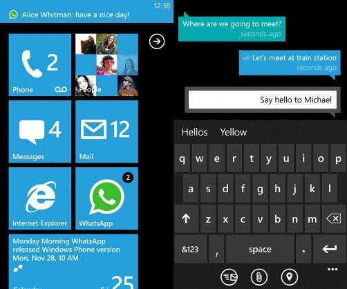 Ecco come è possibile cambiare il colore di WhatsApp in Nokia Lumia 3
