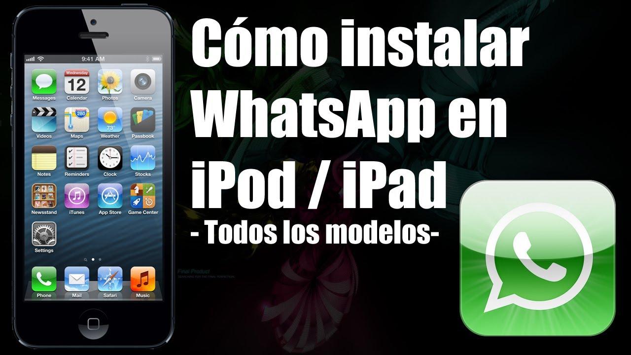 Come installare WhatsApp su iPad 1