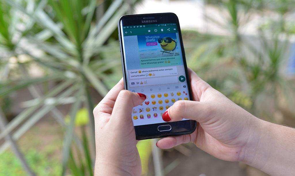 Come avere WhatsApp gratuito su Movistar 1
