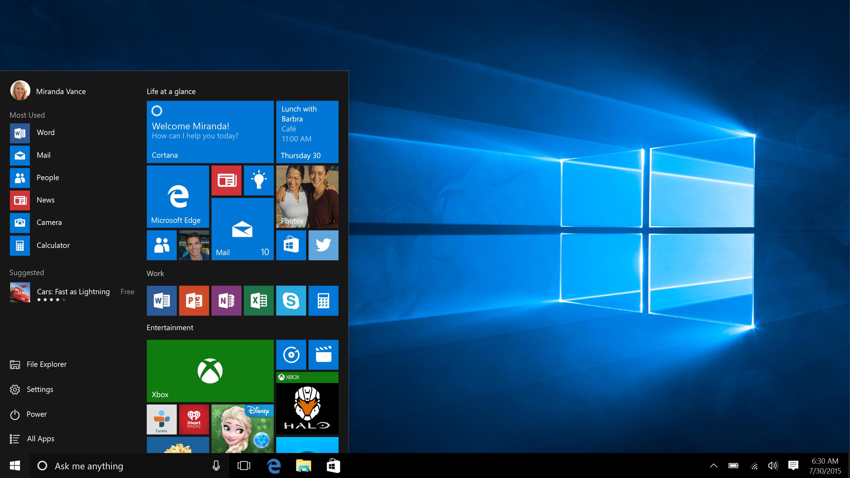 Le migliori funzionalità nascoste in Windows 10 4