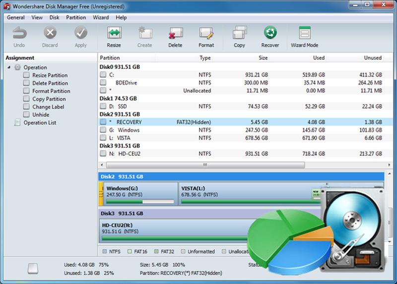 Quali sono i migliori programmi per creare e gestire partizioni del disco rigido su Windows e Mac? Elenco 2019 8