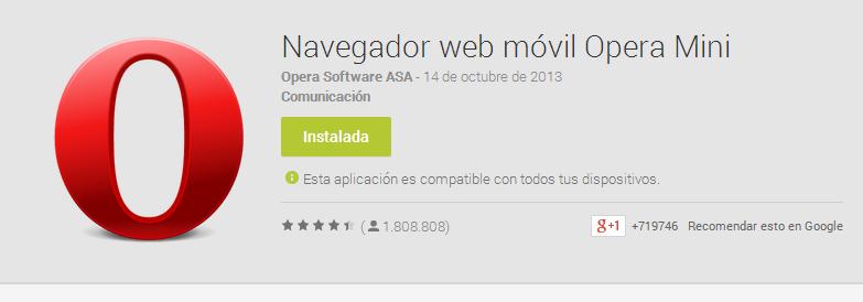 Scarica Whatsapp gratuitamente in Opera Mini 3
