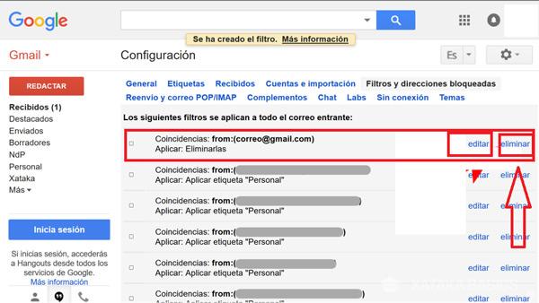 Come bloccare contatti e indirizzi nella posta Gmail ed evitare lo SPAM? Guida passo passo 12