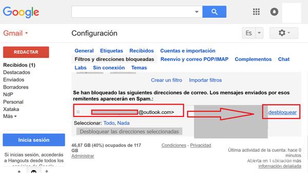 Come bloccare contatti e indirizzi nella posta Gmail ed evitare lo SPAM? Guida passo passo 13