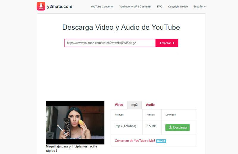 Quali sono i migliori convertitori video di YouTube in formato MP3 e MP4 gratuitamente? Elenco 2019 14