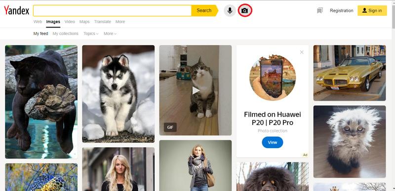 Quali sono i migliori strumenti e servizi per cercare immagini da altre immagini? Elenco 2019 2