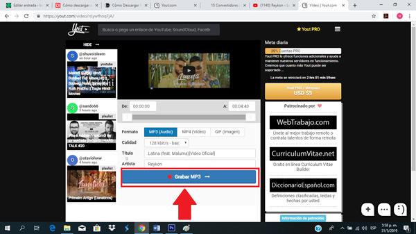 Come scaricare canzoni e musica da YouTube gratuitamente e senza programmi? Guida passo passo 7