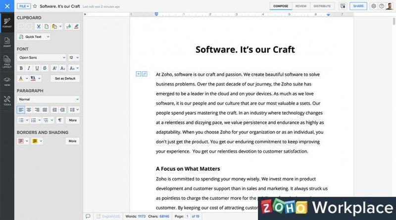 Quali sono le migliori alternative gratuite a Microsoft Office per Windows e Mac? Elenco 2019 9
