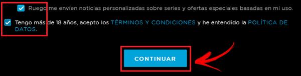 Come creare un account HBO gratuito in spagnolo facile e veloce? Guida passo passo 6