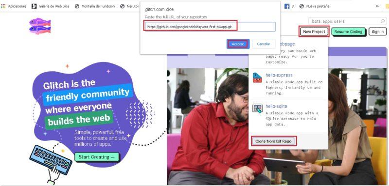 Come creare da zero un'applicazione WEB progressiva (PWA) con conoscenze di base sulla programmazione? Guida passo passo 1