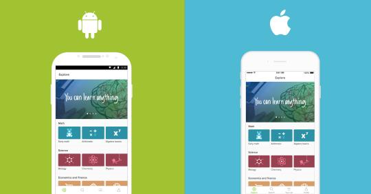 Scarica Khan Academy per Android. Studia e impara sul tuo telefonino 1