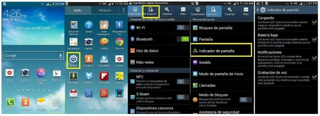 Come attivare la spia Led notifiche Samsung 1