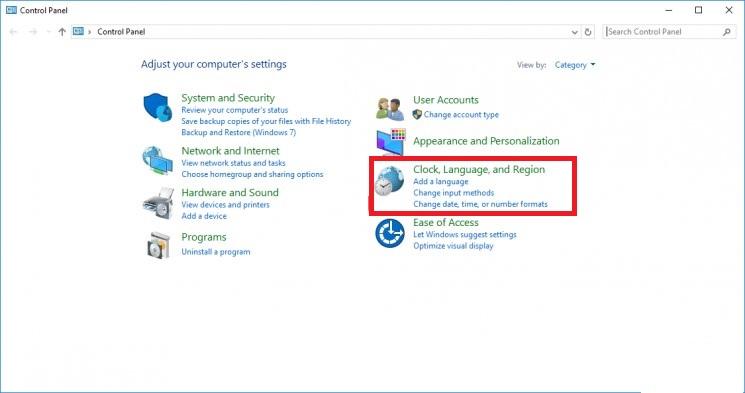 Come cambiare completamente la lingua del sistema operativo Windows 10? Guida passo passo 7