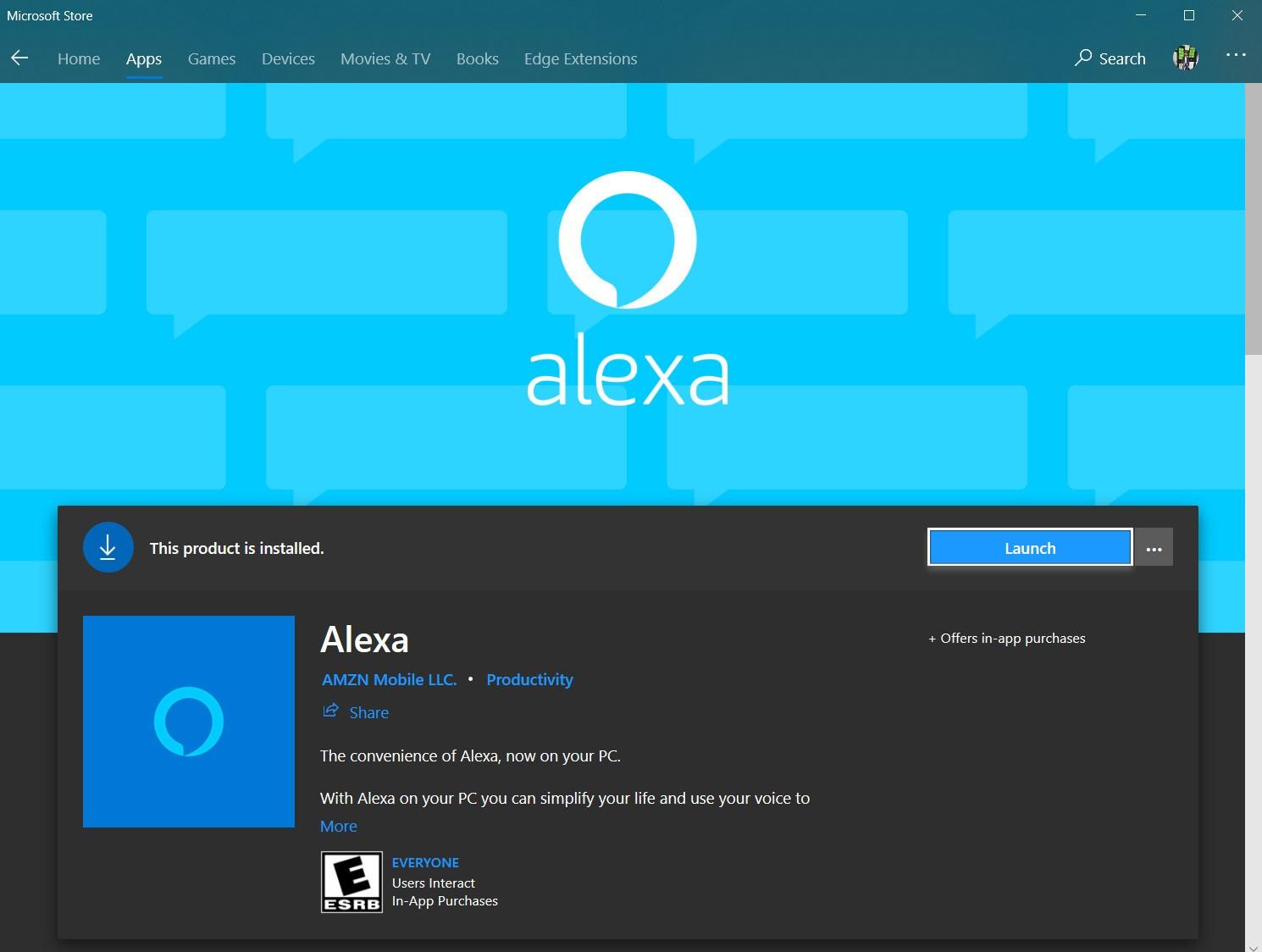 Come configurare Alexa in Cortana con Windows 10 2