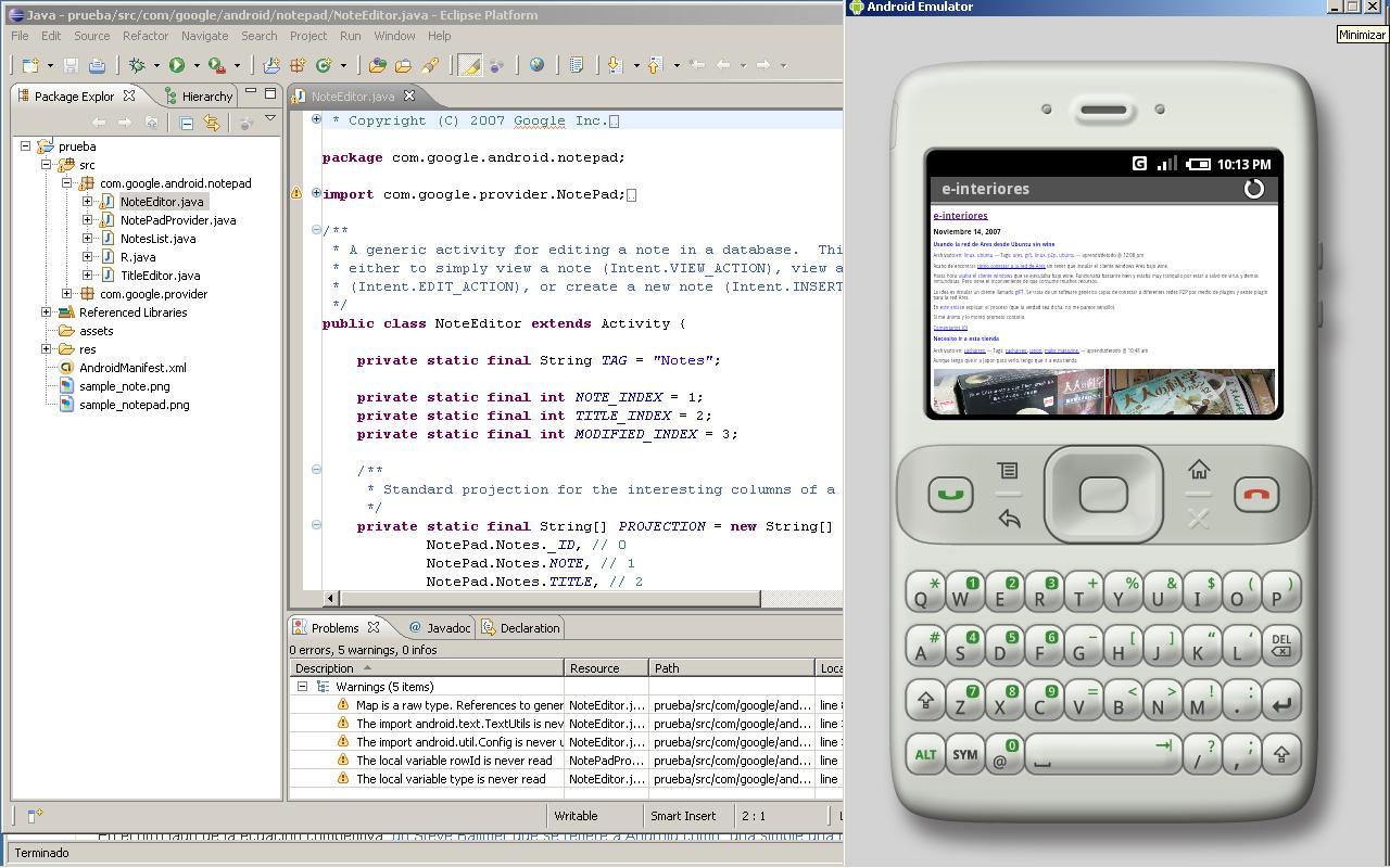 Come programmare con Android dal cellulare? 1