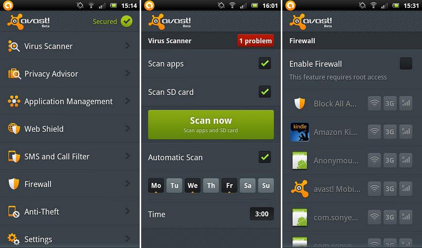Miglior antivirus per Samsung Galaxy J2, J2 Prime, J5 e J7 4