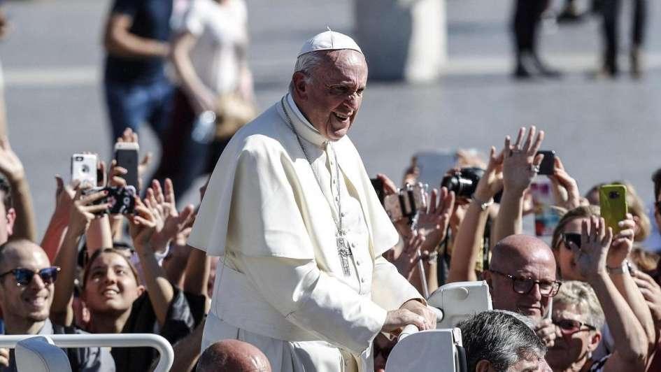 Applicazione con le canzoni della messa del papa in Cile 1