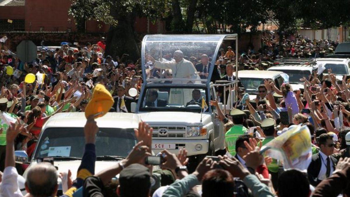 Applicazione con le canzoni della messa del papa in Cile 2