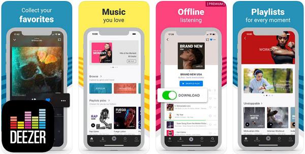 Quali sono le migliori applicazioni per ascoltare e scaricare musica senza una connessione Internet su iPhone? 2019 3