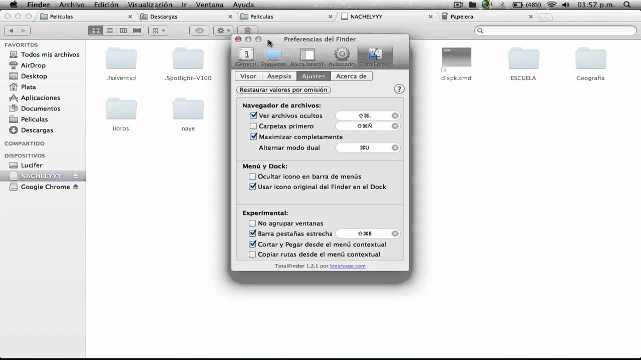 Come visualizzare i file nascosti in Mac OS Sierra e Yosemite 2