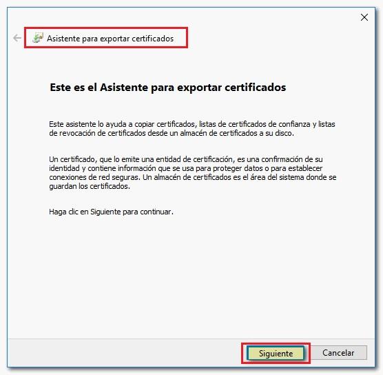 Come esportare un certificato digitale su un'unità flash USB per importarlo su un altro computer? Guida passo passo 5