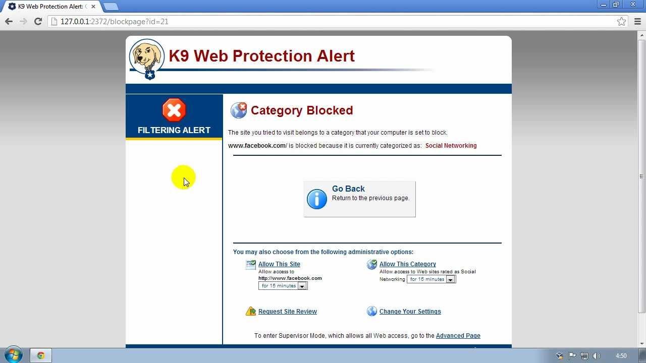 Come bloccare le pagine per adulti su Internet 4