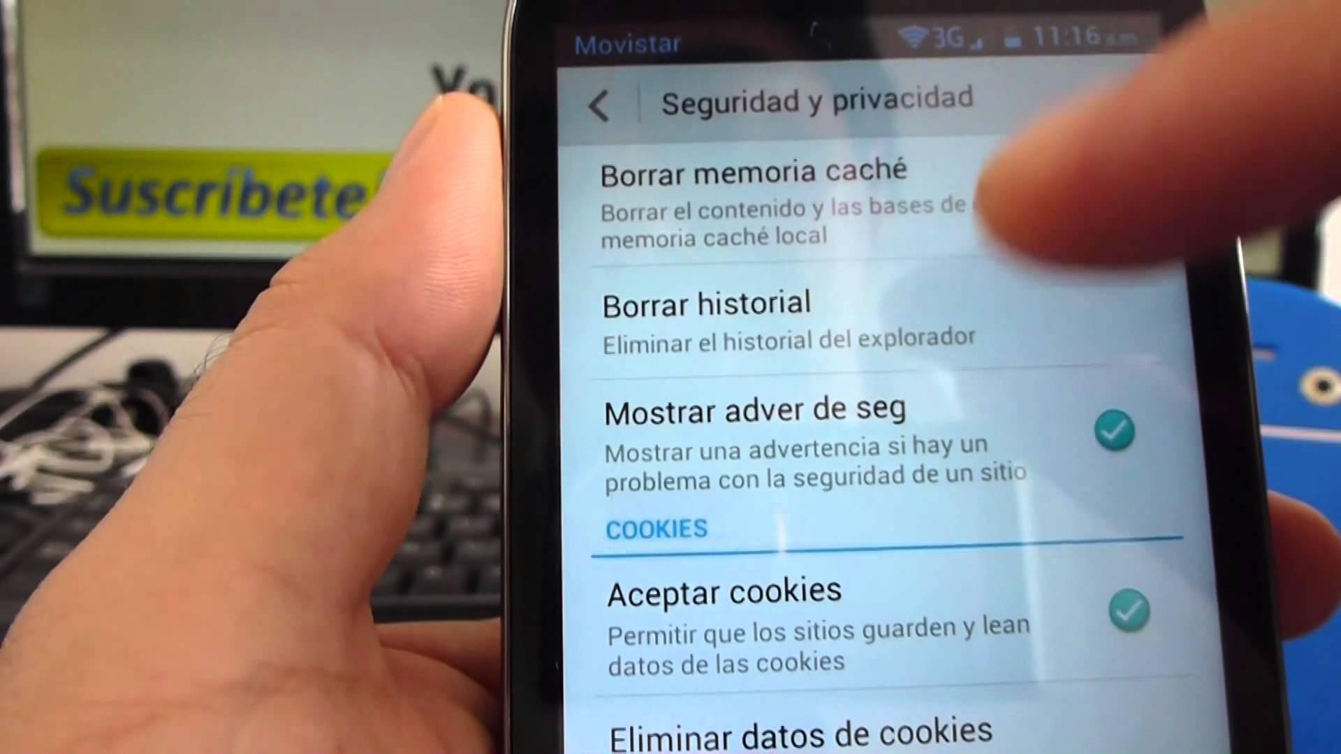 Cancella cronologia di navigazione su Android 1