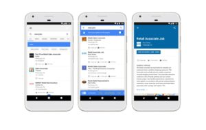 Come cercare lavoro in Google con la funzione Lavori? 200
