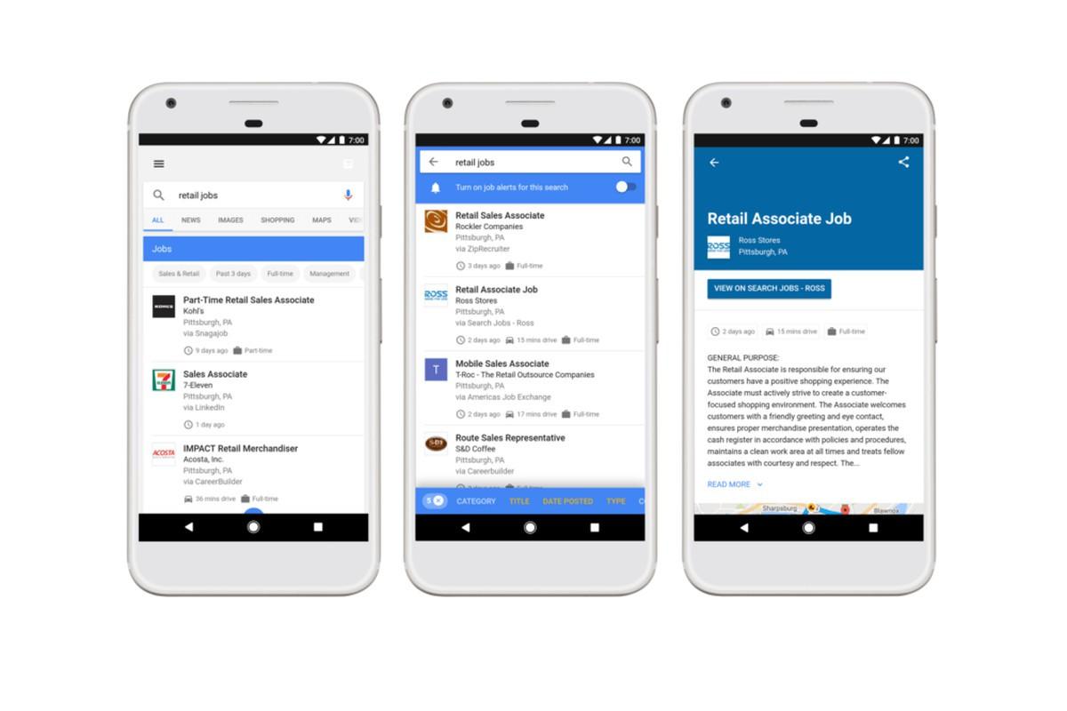 Come cercare lavoro in Google con la funzione Lavori? 1