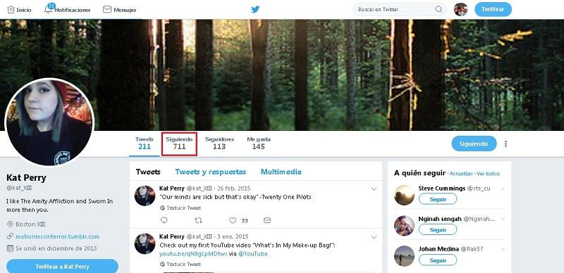 Come trovare una persona su Twitter e trovarla? Guida passo passo 5