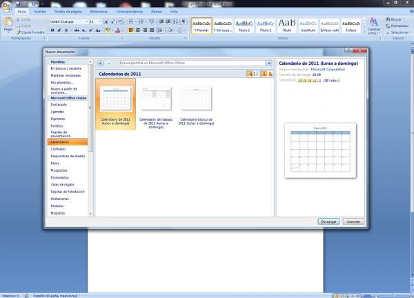 Crea calendario con Word Assistant 1