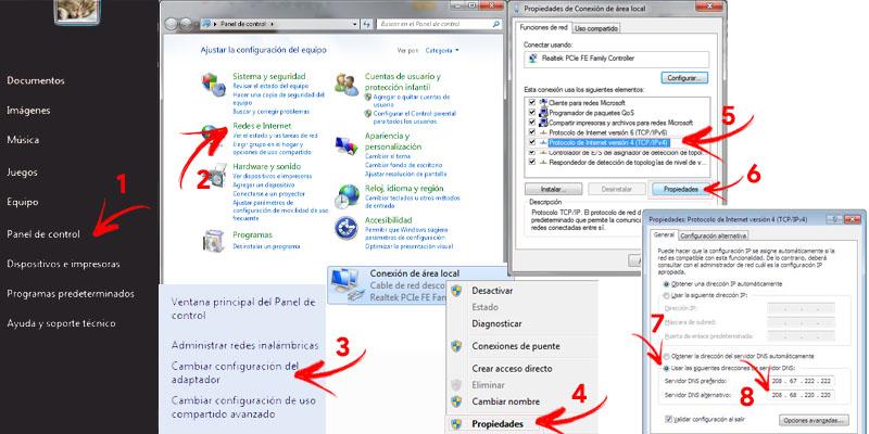 Come cambiare e configurare DNS in Windows 7? Guida passo passo 1