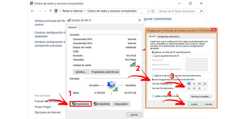 Come modificare e configurare DNS in Windows 8 e 8.1? Guida passo passo 2