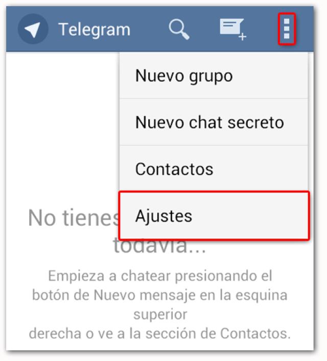Come cambiare nome su Telegram 2