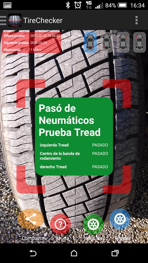 Car Tire Checker 2016, un'app che controlla le tue gomme 2