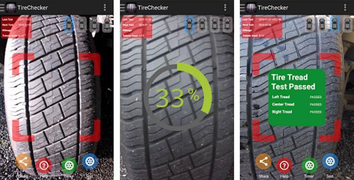 Car Tire Checker 2016, un'app che controlla le tue gomme 1