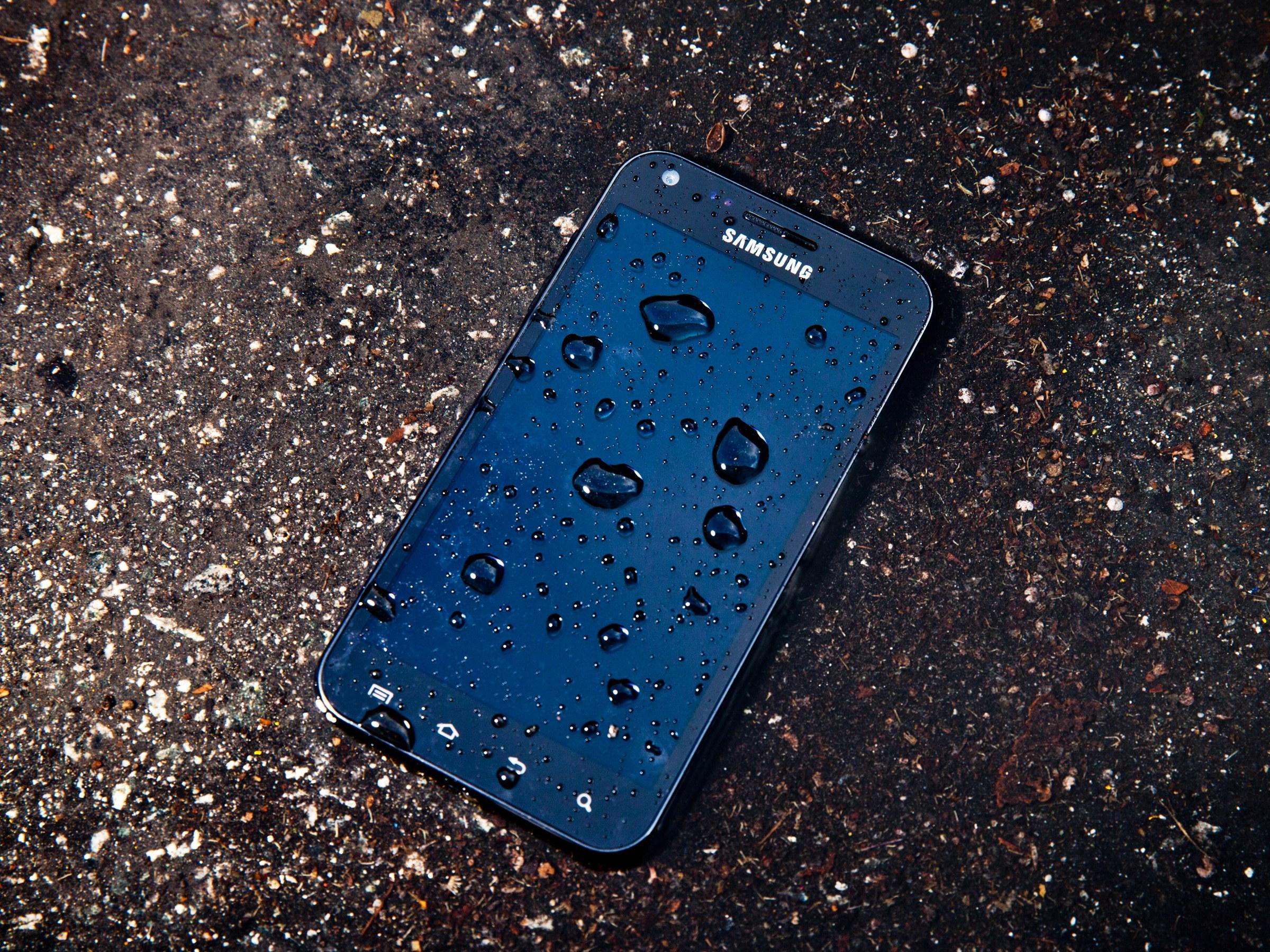 Uno smartphone bagnato è stato riparato? 2