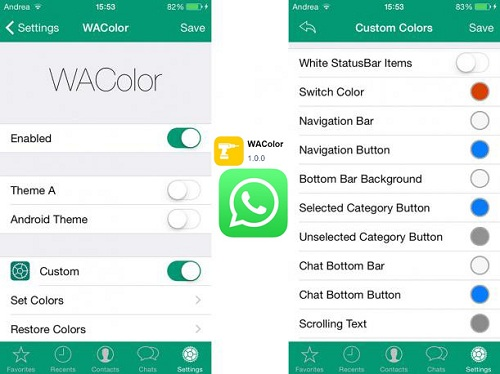 Come cambiare il colore di Whatsapp Messenger su Android e iOS? Guida passo passo 3