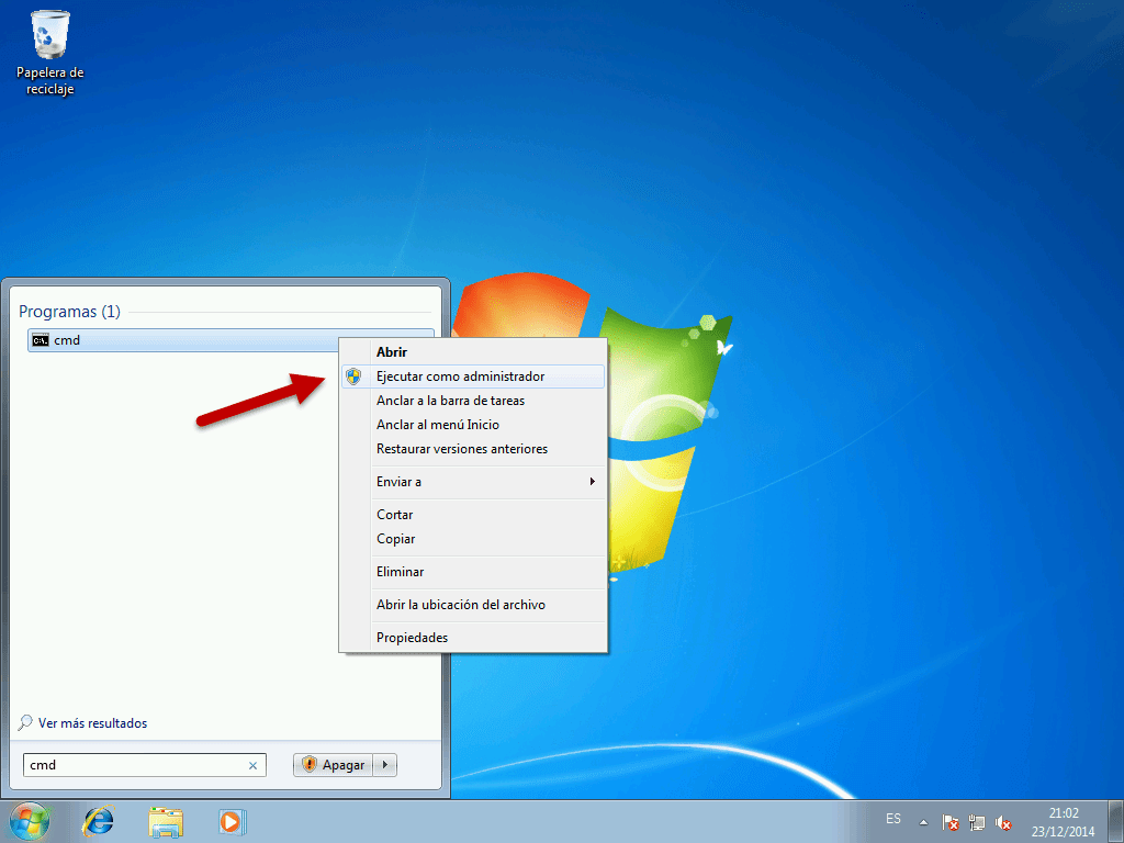 Come eseguire la console di comando CMD in Windows 7, 8 o 10 1