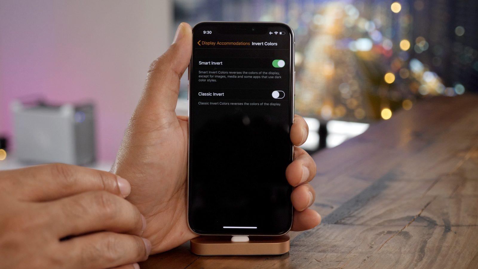 Soluzione su come attivare la modalità oscura su iPhone e iPad 1