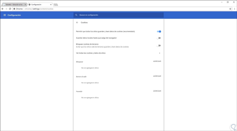 Come abilitare o disabilitare i cookie nel browser SENZA complicazioni 3