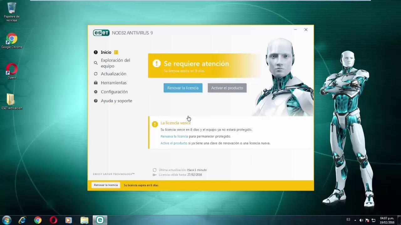 Come attivare ESET Nod32 Antivirus 1