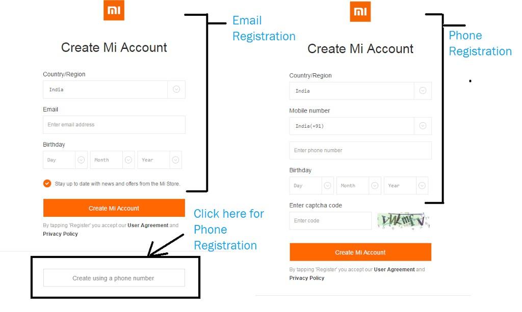 Come eliminare un account Xiaomi MI 1